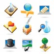 Icon concepts for knowledge — Stock Vector