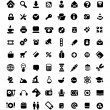 Icon set - Stockvectorbeeld