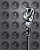 Mike&Speakers — Stock Photo