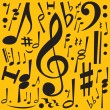 Royalty-Free Stock Vector Image: Music Notes