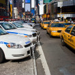 Times Square Vehicles — Stock Photo