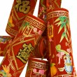 Chinese fire crackers - Stock Photo