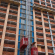Constrction elevators - Stockfoto