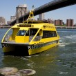 NYC Water Taxi — Stockfoto