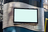 Advertisement LCD TV — Stock Photo