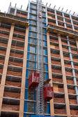 Constrction elevators — Stock Photo
