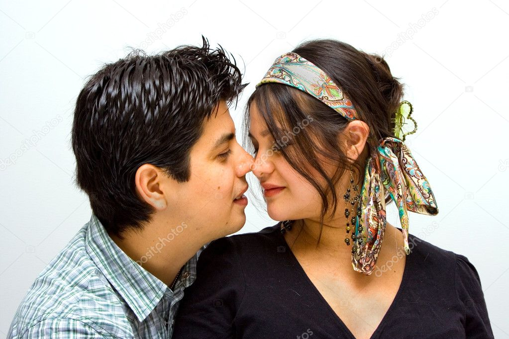 A completely in love couple.  Stock Photo #2738863