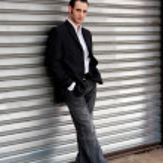 Business man standing — Stock Photo