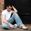 Depressed man — Stock Photo #2765557
