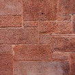 Puzzle brick wall grunge — Stock Photo