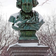 Statue of Ludwig van Beethoven — Stock Photo