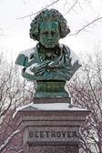 Pomnik ludwika van beethovena — Zdjęcie stockowe