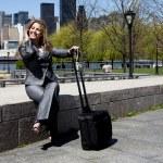 mujer de negocios por teléfono — Foto de Stock   #2889056