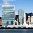 United Nations headquarters - New York — Stock Photo