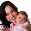 Happy family mother and daughter — Stock Photo #2988344