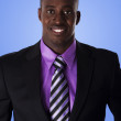 Happy African American business man — Stock Photo