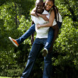 Happy African couple — Stock Photo