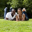 Happy African couple — Stock Photo #3263052