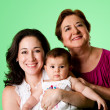Stock Photo: 3 Generations of women