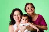 3 Generations of women — Stock Photo