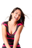 Feliz rindo jovem — Fotografia Stock