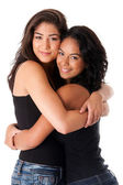 Best friends - hugging women — Stock Photo