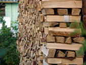 Stack of wood — Fotografia Stock