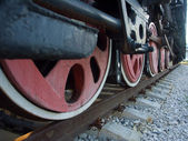 Locomotive - monument — Fotografia Stock