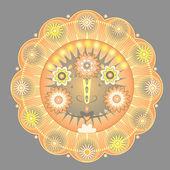 Sonne ornament — Stockvektor