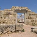 Picturesque historical antique ruins — Stock Photo