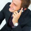 Royalty-Free Stock Photo: Businessman making a phone call.