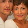 Portrait of a young couple - Stockfoto