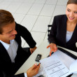Businessteam at a meeting - Foto de Stock  