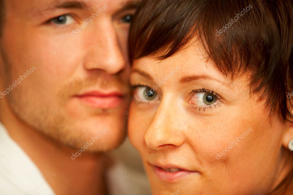 Portrait of a young coupleThe concept is: Love, romance and a happy lifestyle.  — Stock Photo #3199596