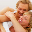 Royalty-Free Stock Photo: Lovers Laughing