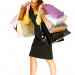 Royalty-Free Stock Photo: Shopaholic!