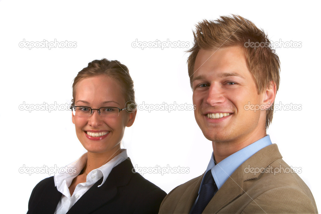 BusinessteamBusinesspeople in studio — Stock Photo #3216984