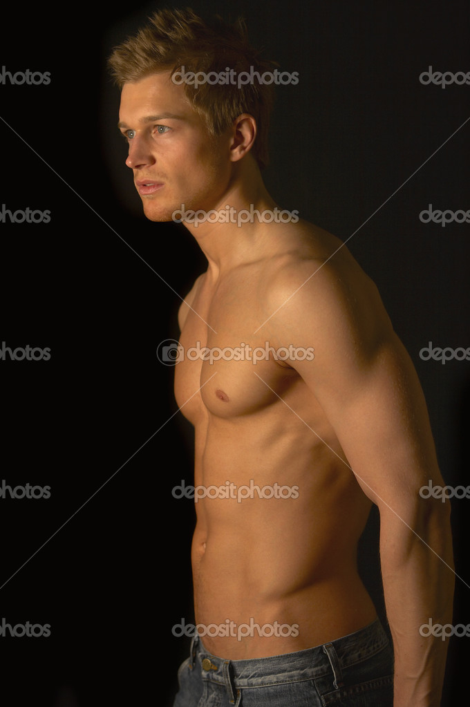 depositphotos 3217233 Young male underwear model. Young male underwear model.   Studio pictures with shadows.