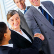 Royalty-Free Stock Photo: Handshake and teamwork
