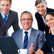 Royalty-Free Stock Photo: Portrait of a business team