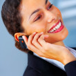 Royalty-Free Stock Photo: Talking business over the phone