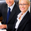 Royalty-Free Stock Photo: Beautiful Business Couple