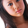 Portrait of an exotic girl - Stockfoto