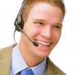 Young Customer Service Representative - Stock Photo