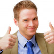 Two Thumbs Up! - Stock Photo