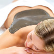 Beauty treatment at the day spa - Stock Photo