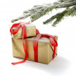 Christmas presents. - Foto de Stock