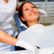 Visit at the dentist - Stock Photo