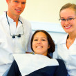 Visit at the dentist - Stockfoto