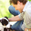 Royalty-Free Stock Photo: A mans best friend